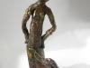 африканская статуэтка из папье-маше